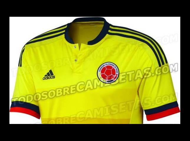 Camiseta de la selección Colombia.