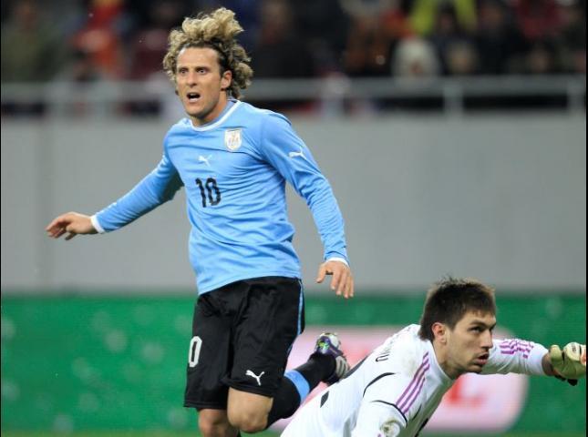 Diego Forlán ex jugador de la Selección de Uruguay.