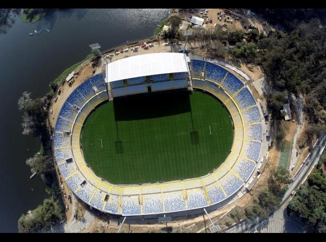 El Estadio Sausalito.