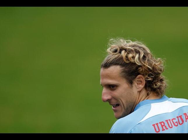 Diego Forlan ex jugador de la Selección uruguaya.