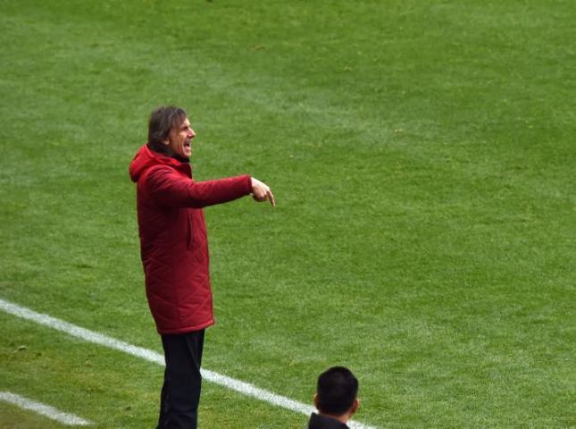 Ricardo Gareca técnico de la selección peruana.