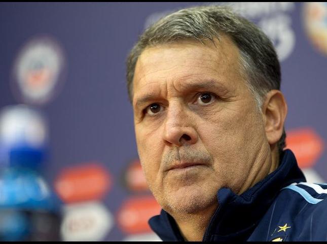 Gerardo Martino técnico de la Selección Argentina.