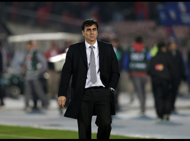 Gustavo Quinteros entrenador de Ecuador.