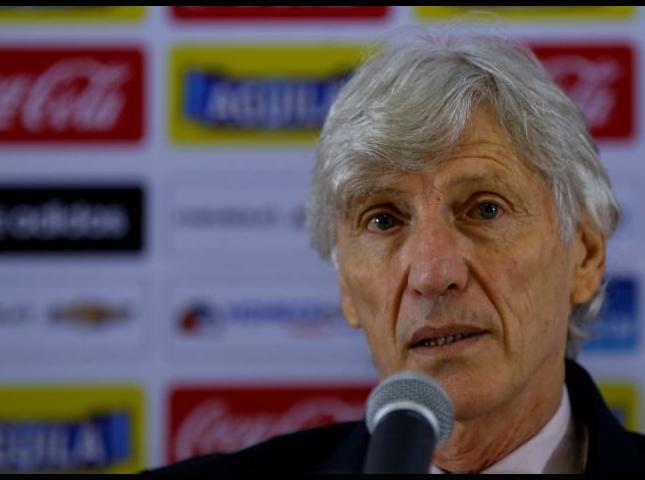Jose Pékerman dt de la Selección Colombia.