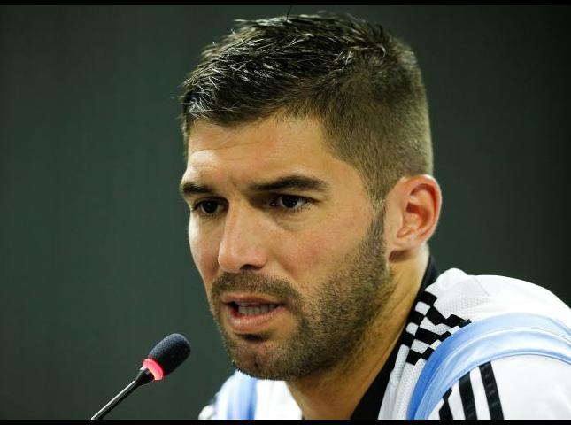Mariano Andujar arquero de la Selección Argentina.