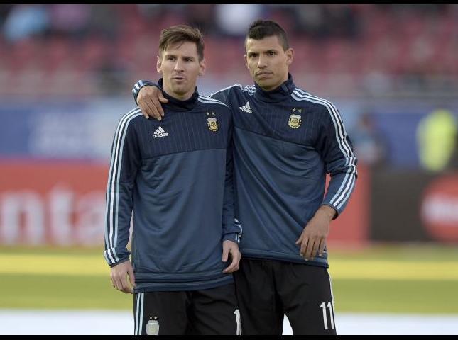 Messi y Agüero