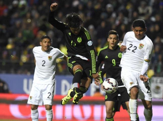 México y Bolivia empataron a cero en su debut en la Copa América.