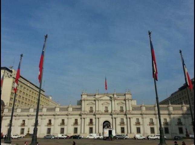 Palacio de la Moneda.