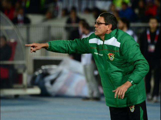 Mauricio Soria Técnico de Bolivia.