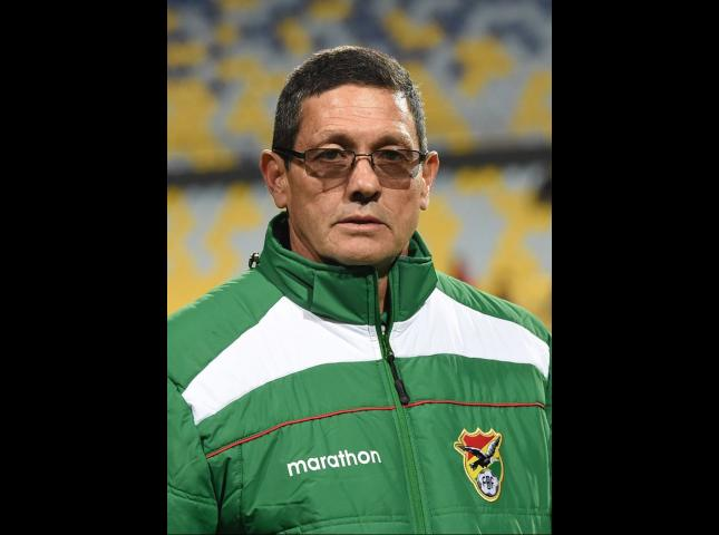 Mauricio Soria entrenador de Bolivia.