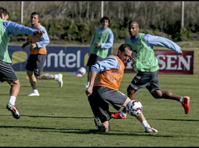 La Selección de Uruguay se prepara para la Copa América.