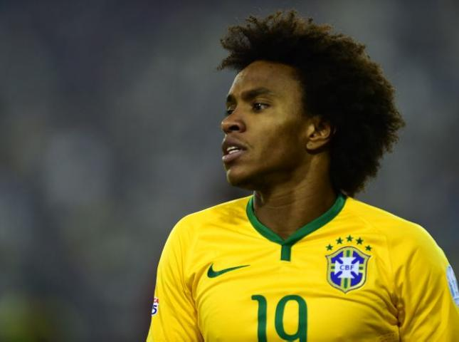 Willian elogió a Lionel Messi.