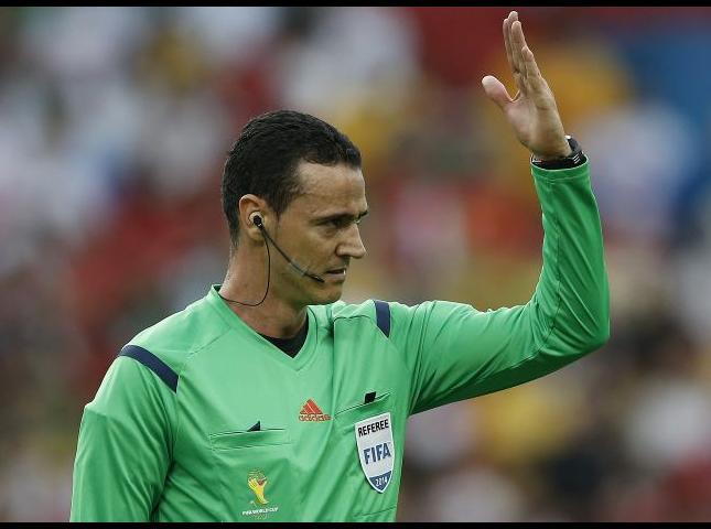 Wílmar Roldán arbitro colombiano.