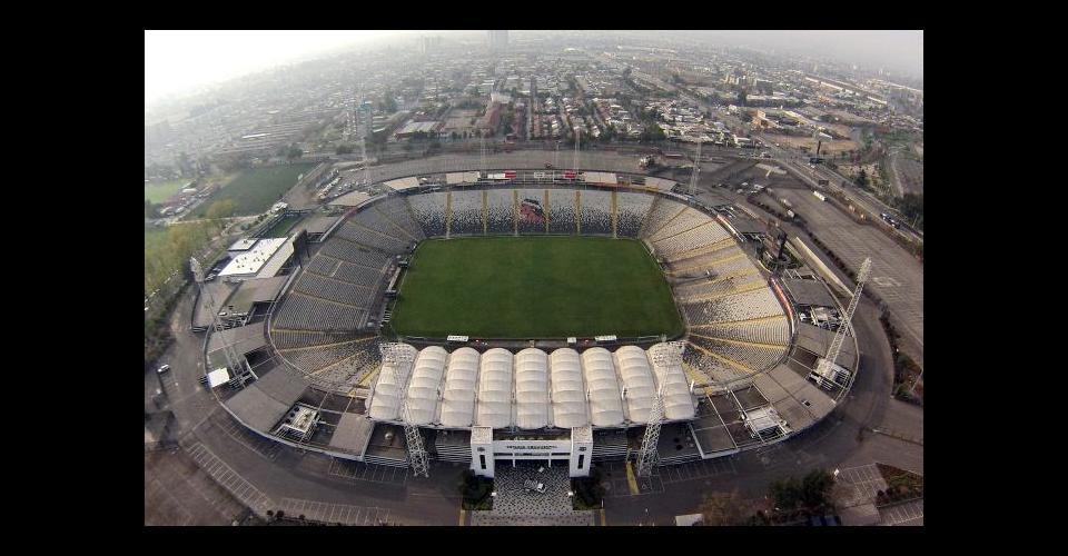 Estadio Monumental tiene capacidad para 47.347 espectadores.