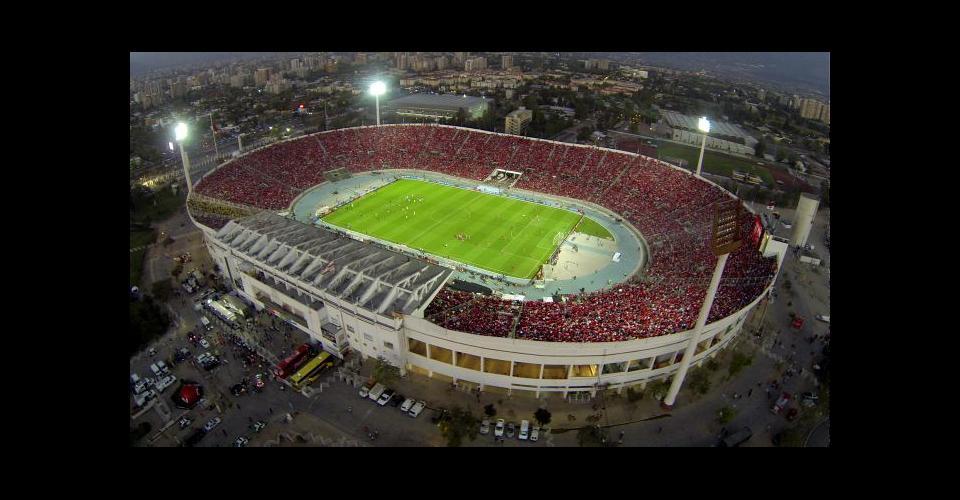 El Nacional, construido en 1938, tiene una capacidad para 48.745 espectadores.