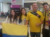 La familia Anillo González se vino completica a Estados Unidos a apoyar a la selección.