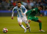 Partido de Argentina ante Bolivia.