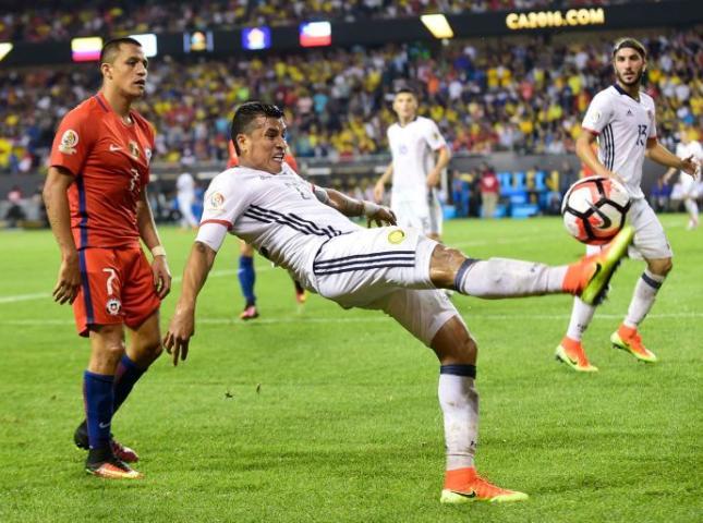 La selección Colombia no pudo contener a Chile.
