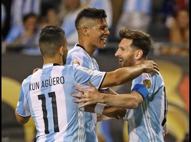 La Argentina de Messi.