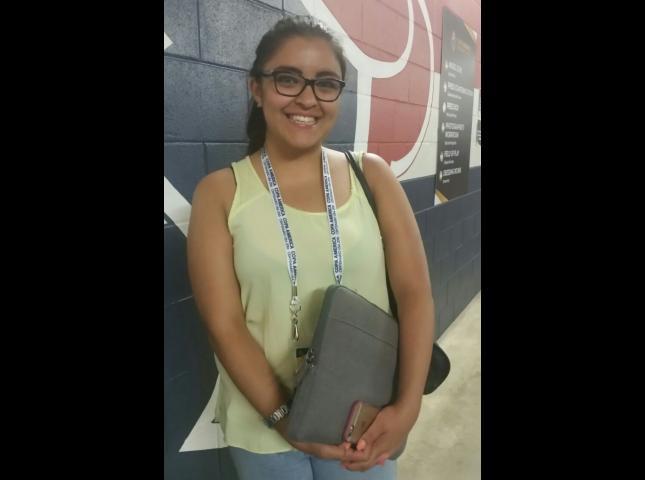 Paulina Grajeda, periodista del Portal Gol, edición mexicana