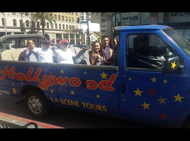 Turismo en Hollywood.