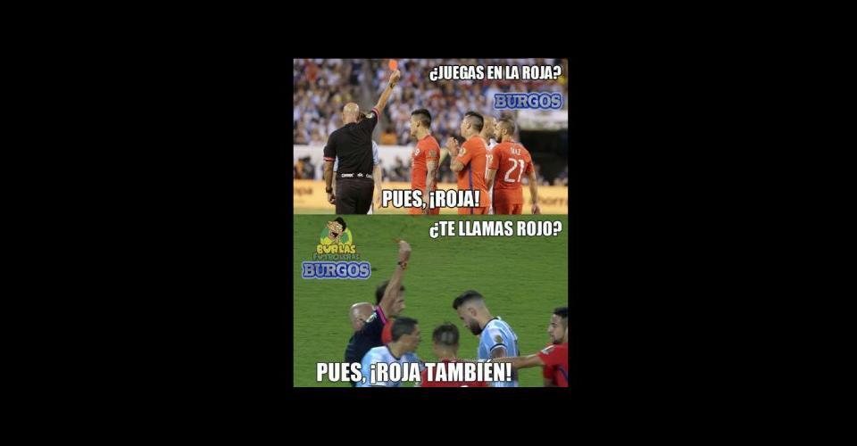 memes final copa america centenario argentina chile