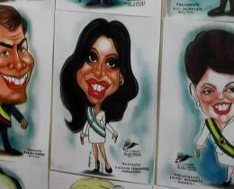 ALEXANDRA CLAVIJO GUERRA, ELUNIVERSAL.COM.CO/Caricaturas presidenciales.