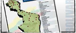 Mapa de bolivar