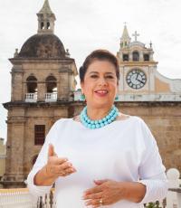 Gina del Rosario Benedetti de Vélez