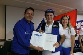 Movimiento MIRA respalda candidatura de Andrés Betancourt