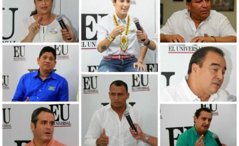 Aspirantes a la Alcaldía de Cartagena 2015