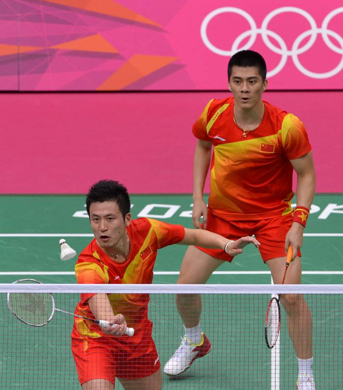 Cai Yun y Fu Haifeng ganaron el oro en dobles de bádminton.