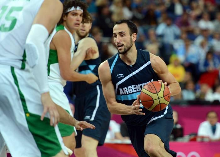 Argentina Baloncesto en Olímpicos 2012