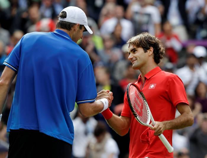 Federer, tenistas suizo.