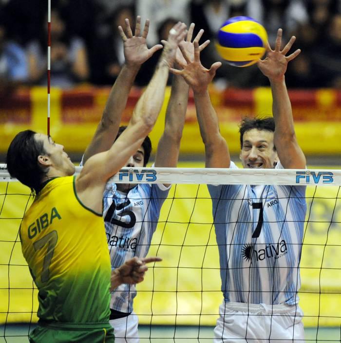 Gilberto Godoy Filho 'Giba', el capitán de Brasil.