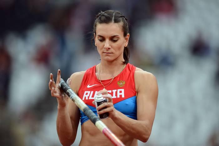 La rusa Yelena Isinbayeva