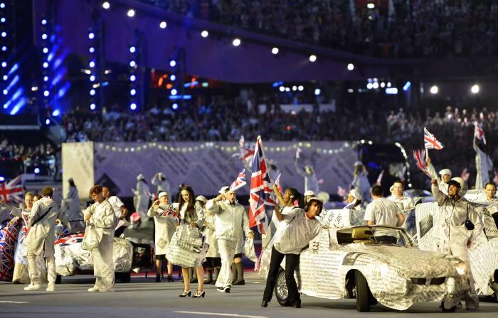 Clausura de los Juegos Olímpicos de Londres 2012