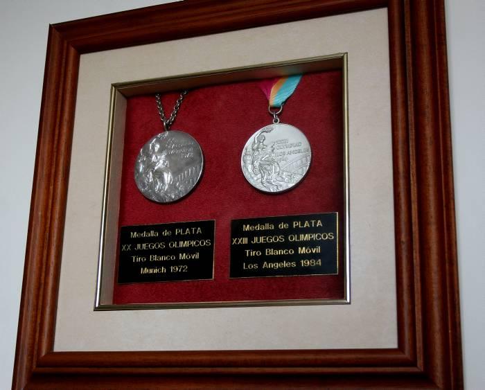 Medallas de Helmut Bellingrodt