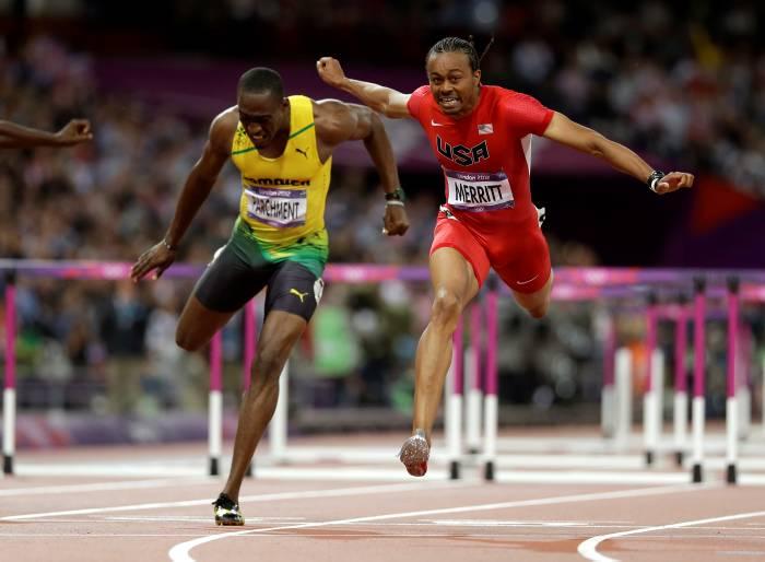 Aries Merritt ganó la medalla de oro en los 110 metros vallas.