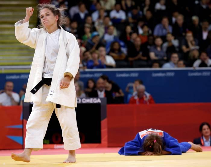 Moreti derrota a Pareto en Olimpiadas de Judo Femenino.