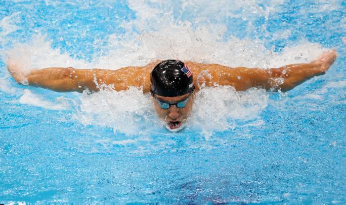 Michael Phelps, nadador Estadounidense.
