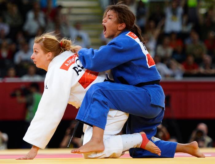 Judoca Brasileña Sarah Menezes
