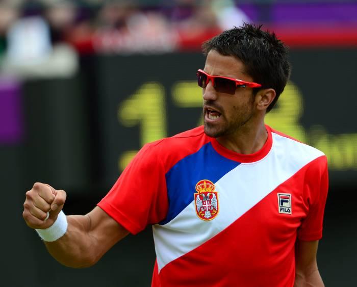 Janko Tipsarevic, Tenista Serbio