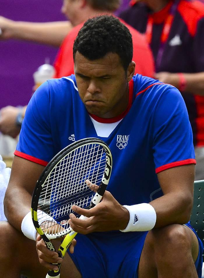 Jo-Wilfried Tsonga, Tenista francés.