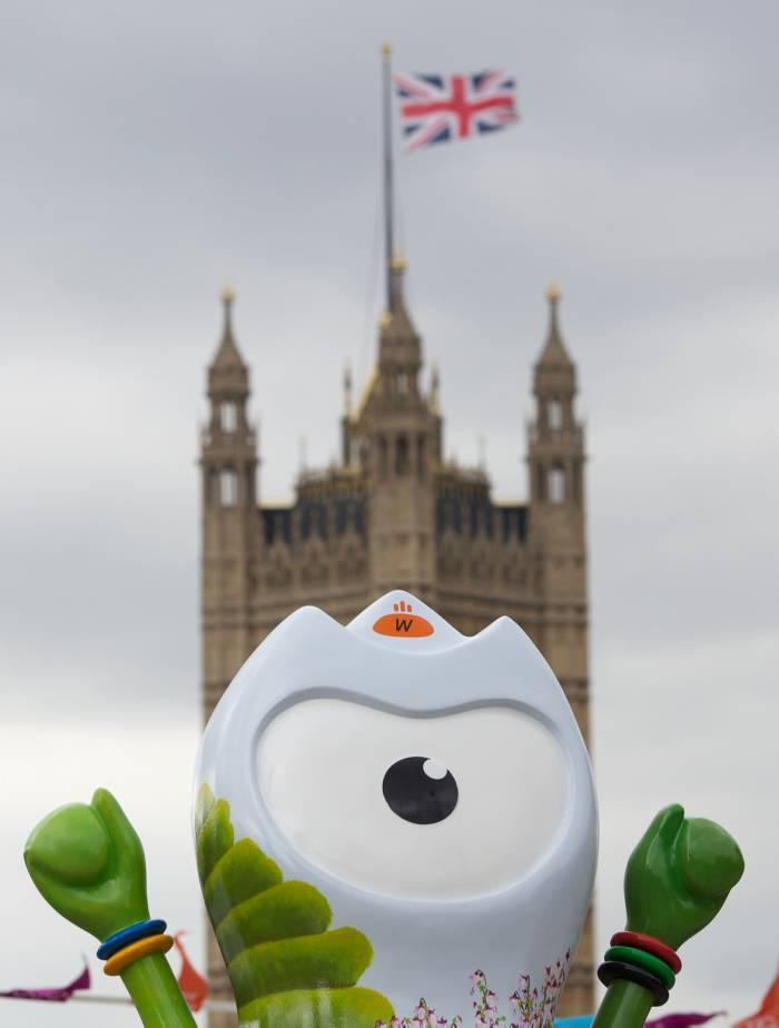 Wenlock, mascota de los juegos olímpicos 2012