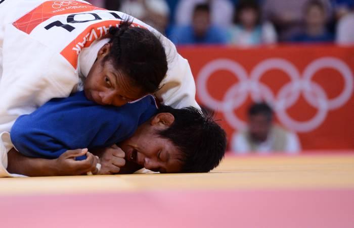 La judoca colombiana derrotó en el combate decisivo por el tercer puesto a la ch