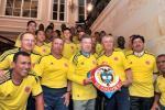El presidente Juan Manuel Santos le entregó la bandera a la selección Nacional