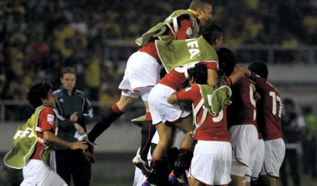 Egipto celebró como nunca el empate 1-1 ante Brasil.