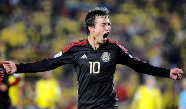 Erick Torres, goleador de México