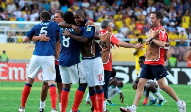COLPRENSA - Francia celebró su paso a la semifinal del Mundial Sub 20.